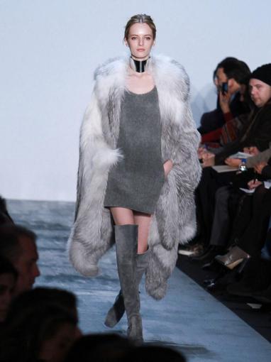 Мода 2012 меховая мода 2012 модная зима