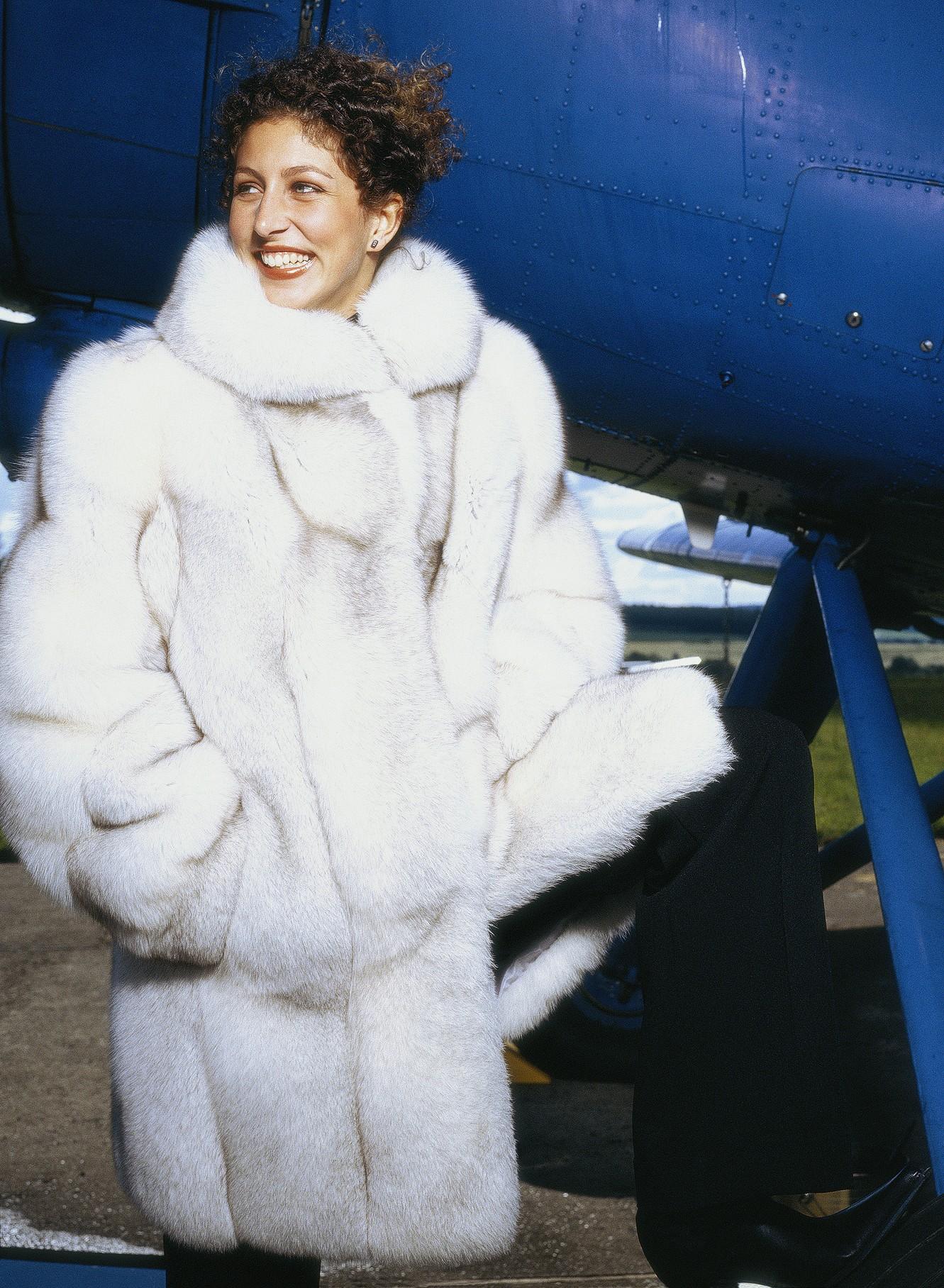 комбинированные куртки из меха фото